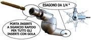 RINVIO ANGOLARE 360° REGOLABILE DISASSATO PER AVVITARE IN TUTTE LE POSIZIONI